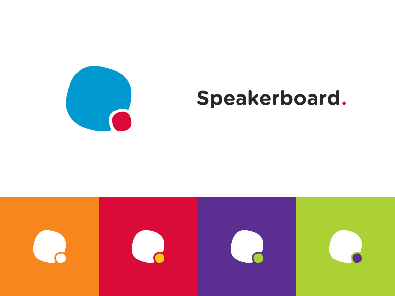 Speakerboard dribbble logo