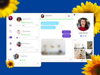 Direct Messaging app - Daily Ui 13