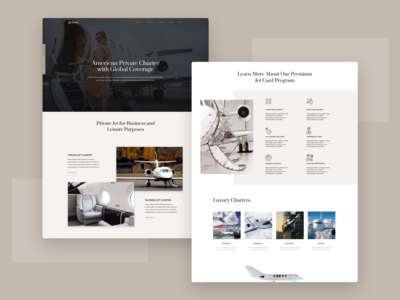 Jet One - Private Airline WordPress Theme