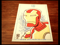 Ironman 3 Sketch Card