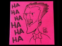 Joker Post It Note