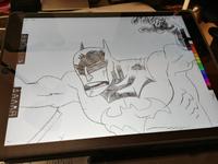 Batman on the ipad Pro