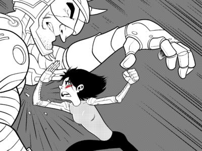 Alita manga comics movies action ink