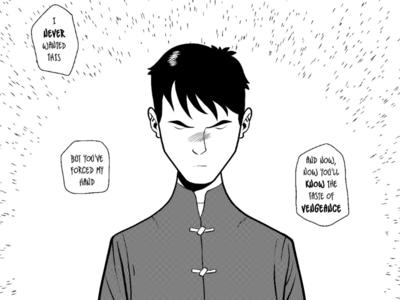 Wing Chun 3 manga ink comics martial arts