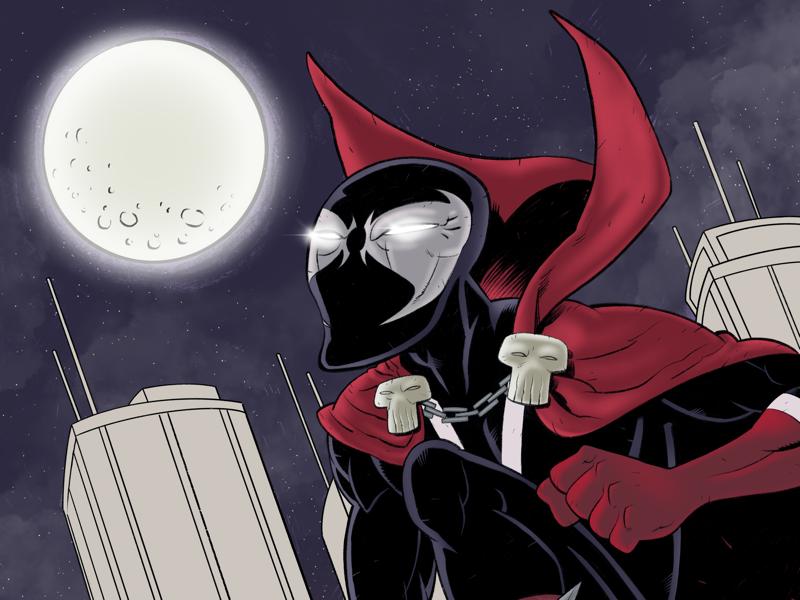 Spawn in Color superhero comics color cover spawn