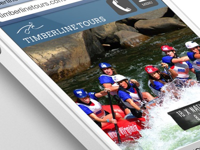 Mobile version timberlinetour.com rafting vail whitewater colorado adventure website map google maps fun 970 design