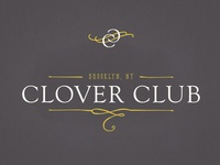 Clover Club Mark & Logo Concept