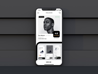 Daily UI Challenge Day 05: User Profile
