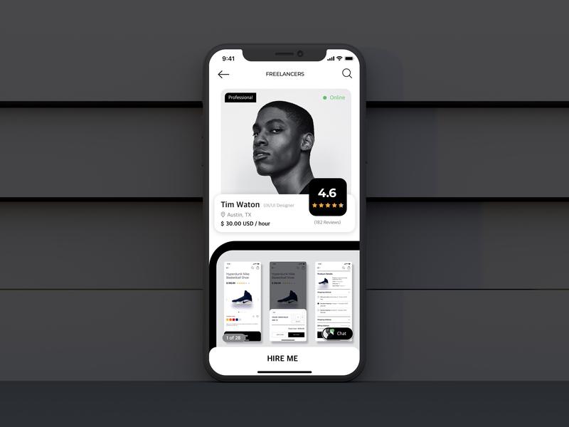 Daily UI Challenge Day 05: User Profile app ux ui design