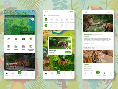 Zoo App UX/UI Design