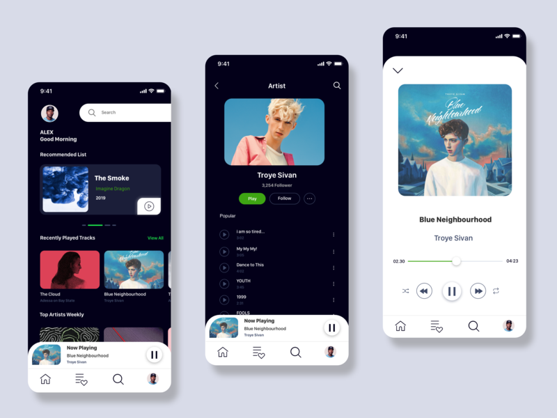 Daily UI Challenge Day 06 app ux ui design