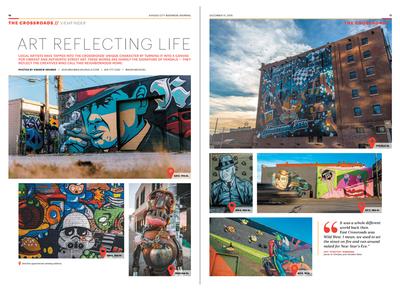 Kansas City Business Journal Crossroads Art Package