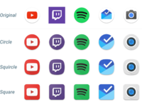 Adaptive icons 2
