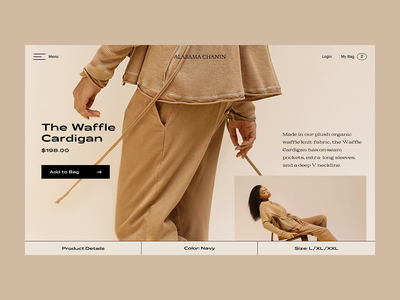 Product Page Experience creative experience concept transition store shop parallax interaction ecommerce fashion principle ux ui design web page product carousel app animation