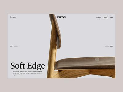 Iskos - Interactive Carousel webdesign fullscreen creative zoom concept ux transition carousel design minimal principle web product fashion interaction animation ui