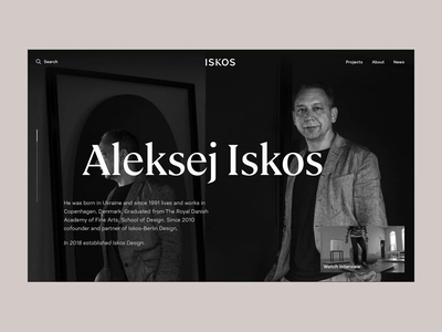 About Experience progressbar web ux concept creative video design reveal mask typography fixed parallax page about principle product interaction animation ui experience