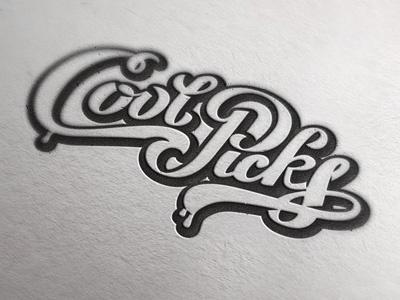 Coolpicks coolpicks lettering logo