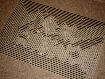 Labyrinth labyrinth maze carved carving cnc wood walls hilka riba grafixd