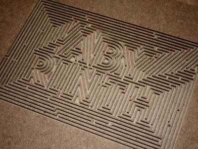 Labyrinth labyrinth maze carved carving cnc wood walls hilka riba grafixd