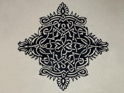 Embroidery embroidery tattoo graphic design hilka riba grafixd