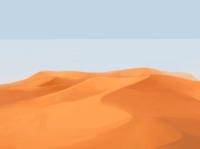 Desert in moroco