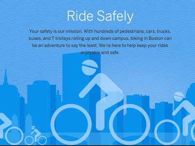 Bike Safety Illustration