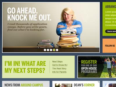Undergraduate Admissions Site