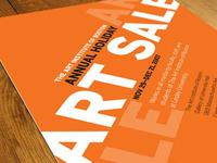Art Sale Invitation