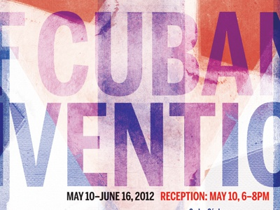 Cuban Artists Poster