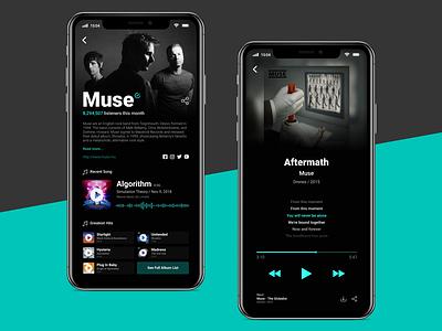 BR6 music design music app design ux design ux ui design design ui
