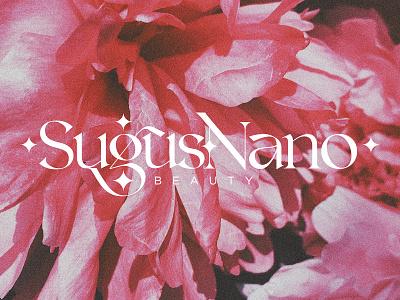 SugusNano Beauty Main Logo logotype logo branding