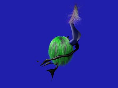 hair study 3d cinema4d c4d