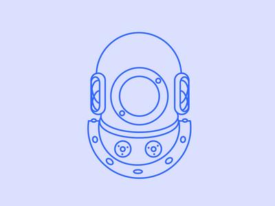 Scuba Mask illustration illustrator