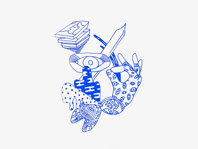 freeform sketch 091818 freeform illustration drawing