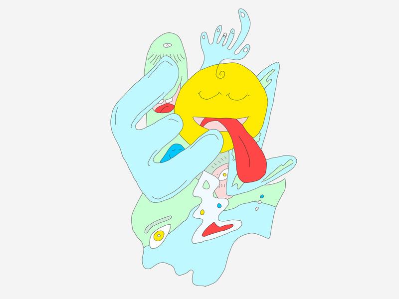 freeform sketch 092318 abstract art drawing illustrator design photoshop illustration