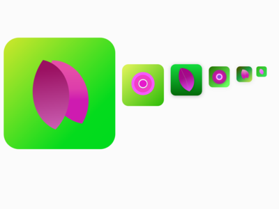 100 Days Challenge Day-005 App icon design