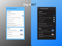 100 Days Challenge Day-007 Setting for Comment Controls