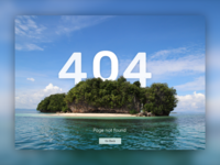 100 Days Challenge Day-008 Error page