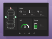 100 Days Challenge Day-034 Car Interface