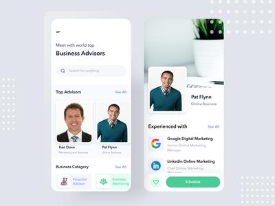 Business Adviser Mobile application