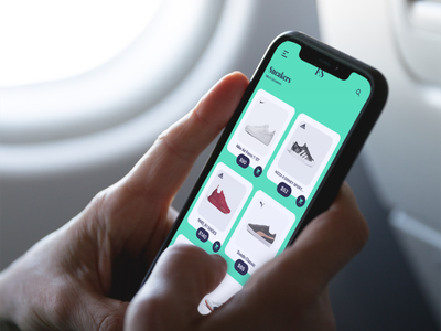 Online Shoe App Design Ui Concept ui  ux design modern design shoe app shop app shopping app ecommerce app online shopping app uidesign ui ux