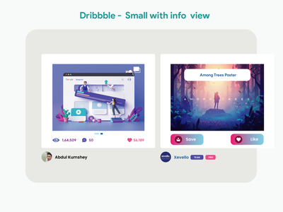 New Grid View - For Dribbble