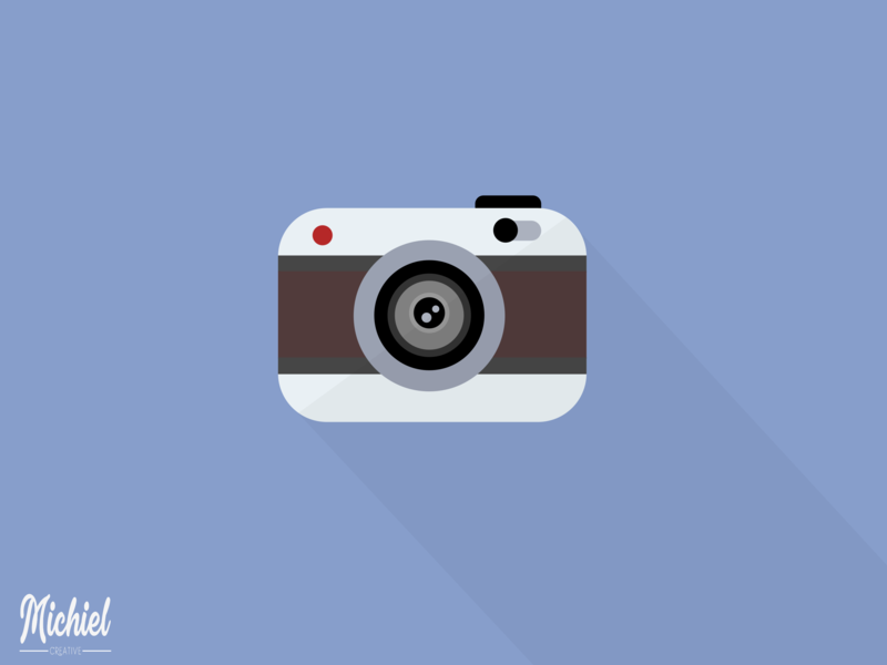 Digital Art: Camera camera app instagram concept photoshop inkscape illustrator colors cartoon logo design logo icon ui ux graphic  design shadow illustration design flat camera