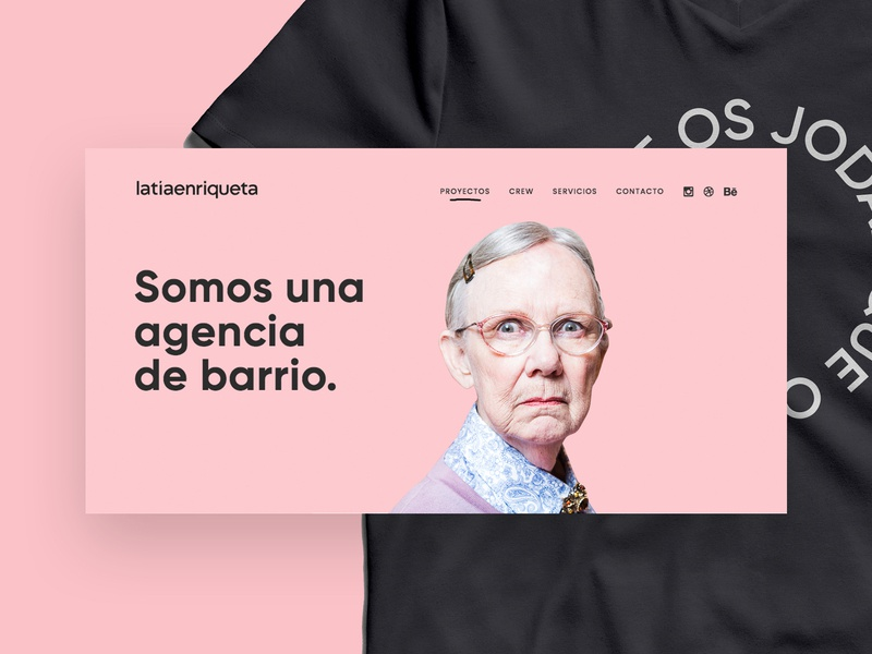 La Tía Enriqueta Crew web visual strategy creativity creative agency communication brand agency branding design