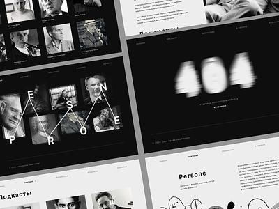 PERSONE website webdesig persone ux branding ui design shot dribbble