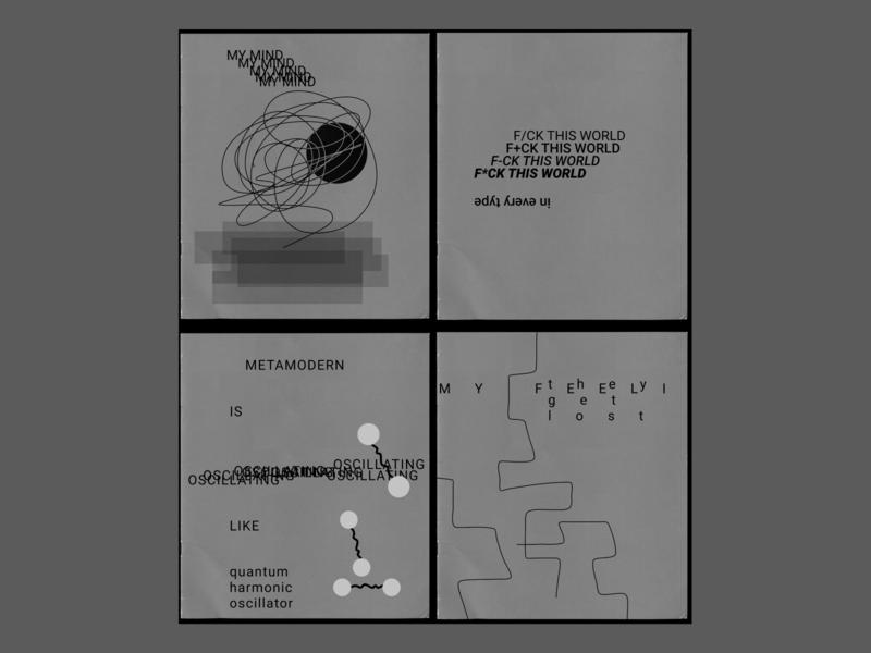 NREDOMATEM brutalism minimal webdesign metamodern typography graphicdesign design shot dribbble