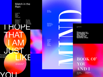 POSTERS beauty colors art typography poster abstract graphicdesign design shot dribbble