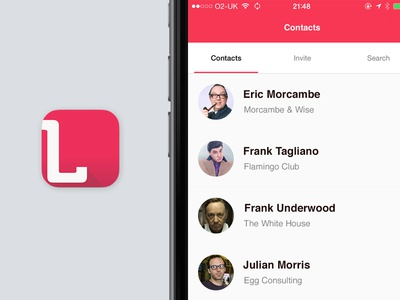 Lynker Version 1.1 segment users contact list app icon promo lynker