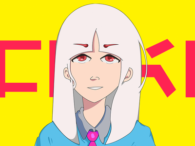 Insatsu Hōseki - Character Design cell shading anime illustration animation anime design illustration cartooning character design anime cmyk