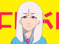 Insatsu Hōseki - Character Design